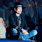 Johnny Depp at a Cineramageddon screening of The Libertine, during the Glastonbury Festival at Worthy Farm in Pilton, Somerset. Thursday June 22, 2017. Ben Birchall/PA Wire