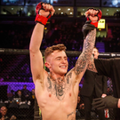 Strabane MMA fighter James Gallagher