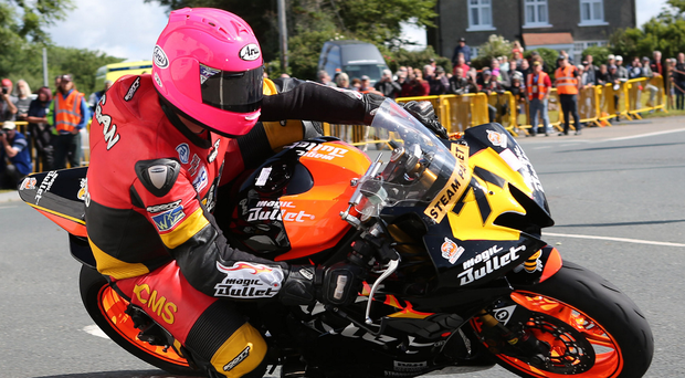 Big hope: Davy Morgan will be in action at Oliver's Mount. Photo: Dave Kneen/Pacemaker