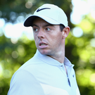 Off course: Rory McIlroy struggled in Connecticut. Photo: Maddie Meyer/Getty Images