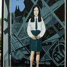 A mural in the Bogside depicting 14-year-old Annette McGavigan