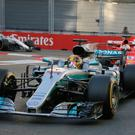 Race time: Vettel rammed into the back of Hamilton then drove into the side of his car