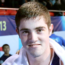 European success: Joe Ward