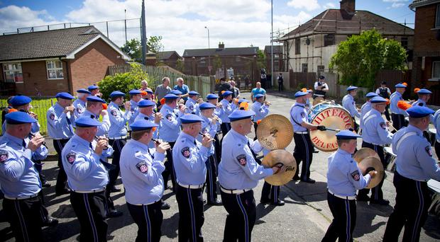 The parade passed without incident
