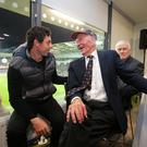 Rory McIlroy and Harry Gregg hit it off over a love for Manchester United and a passion to get young people into sport.