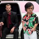 Jamie Dornan and Peter Dinklage star in My Dinner with Hervé.