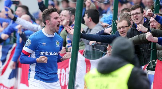 Could Linfield's Andrew Waterworth and other Irish League stars be playing a lot more football in May and June?