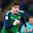 Kyle Lafferty is reportedly a target for both Edinburgh clubs.