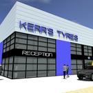 Artist's impression of new premises