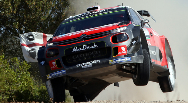 Upgraded: Kris Meeke will have a modified C3 when he returns to the Citroen team for Rally Finland in July