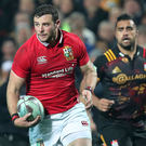Standing tall: Robbie Henshaw says the Lions must fight back to negate New Zealand's physical approach to the game