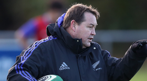 War of words: New Zealand boss Steve Hansen (pictured) has rejected Lions coach Warren Gatland's criticism of the All Blacks' tactics