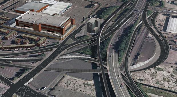 Designs for York Street Interchange. URS/Scott Wilson's digital team
