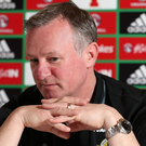 Main man: Michael O'Neill has done wonders for NI