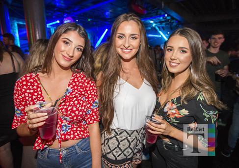 People out at The Chainsmokers Belsonic Aftershow at Limelight. Monday 26th June 2017 Liam McBurney/RAZORPIX