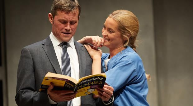 Bill Ward and Laura Whitmore in Not Dead Enough by Peter James.