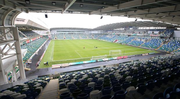 Should Linfield see off La Fiorita in the opening round, they will host Celtic at Windsor Park on July 14.
