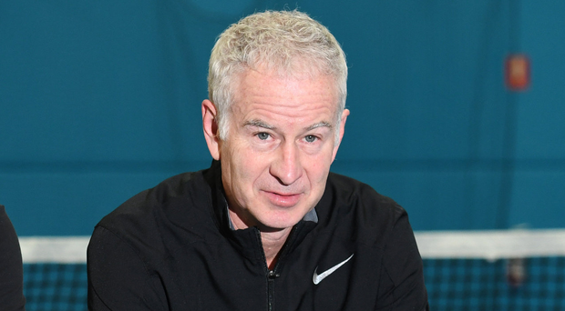 Unmoving: McEnroe will not apologise to Serena Williams. Photo: Vince Caligiuri/Getty Images