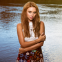 On song: Una Healy has embarked on a solo career