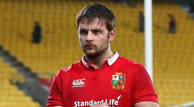 Mixed reviews: Iain Henderson stood out but blotted copy book with card. Photo:David Rogers/Getty Images