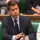 State for Northern Ireland James Brokenshire answers questions in the House of Commons, London. PA Wire
