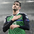 Northern Ireland striker Kyle Lafferty