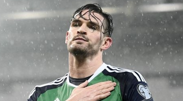 Northern Ireland star Kyle Lafferty has signed for Hearts