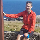 Distance runner: Eoin Keith ran from Mizen to Malin
