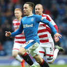 In the cold: Barrie McKay has been omitted from Rangers' Europa League squad. Photo: Ian MacNicol/Getty Images