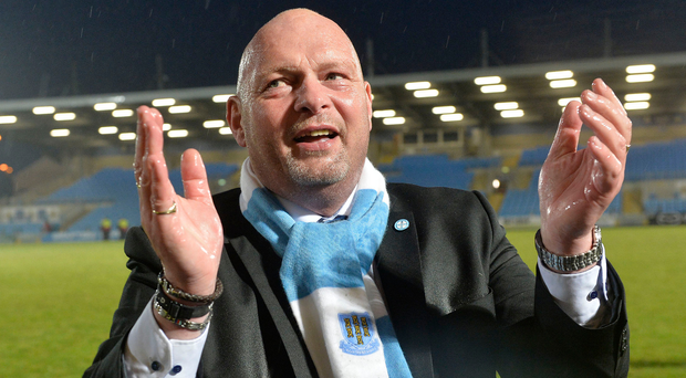 Huge challenge: David Jeffrey knows Ballymena United are up against it on the European stage in Norway. Photo: Stephen Hamilton/Presseye