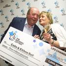 Colin and Eithne Bell, two charity workers from Newry, Co Down have become Northern Ireland's latest Lottery Winners after scooping £1,000,000 in the EuroMillions UK Millionaire Maker on Tuesday 10th June. Photo: NewRayPics.com 29 Jun 2017