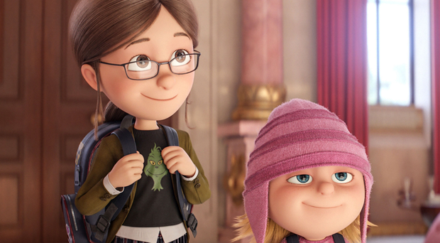 Let-down: Margo and Edith in Despicable Me 3