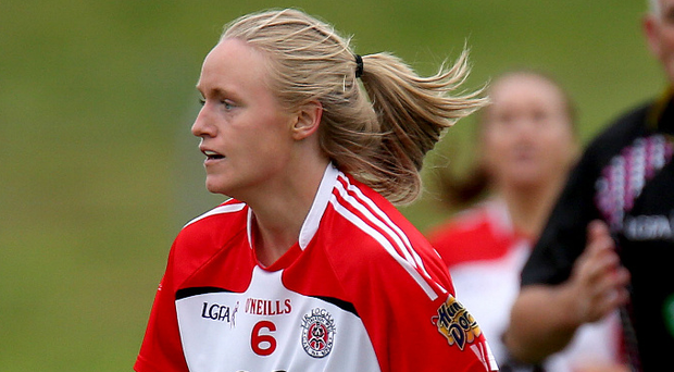 Back again: Niamh Woods was injured for last year's final
