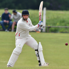 Key man: James Hall is Waringstown's in-form batsman with 202 runs in his last two innings