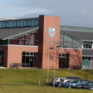 Strathearn School in east Belfast, one of the nine schools that have achieved a 100 per cent pass rate at GCSE