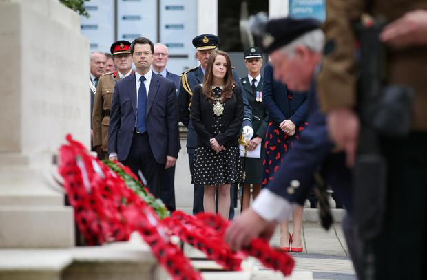 Battle of the Somme commemoration in the Garden of ...