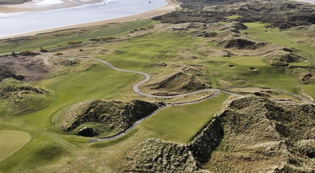 The Strand Course at Portstewart GC is all set for the Irish Open.