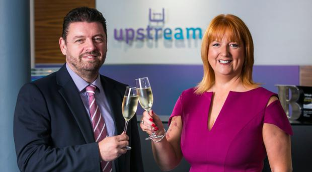 Judith Totten, managing director and Alan Wardlow, head of new business at Upstream