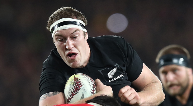 Forward thinking: Brodie Retallick knows the chance of a series