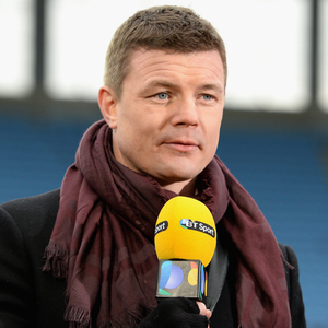On the spot: Brian O'Driscoll has been working for BT Sport