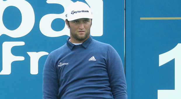 Frustrated: Jon Rahm apologised for his behaviour at US Open