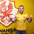 Fresh pastures: Niall McGinn has joined Gwanju in South Korea