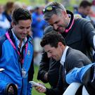 Rory McIlroy won't be tweeting for the time being.