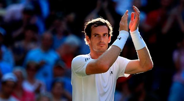 Andy Murray is into the third round at Wimbledon after his win over Dustin Brown