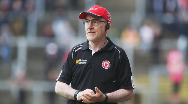 Verbal blast: Mickey Harte has shot down the game's critics