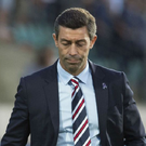 Unimpressive: Pedro Caixinha has presided over more than one calamity during his short spell at Ibrox