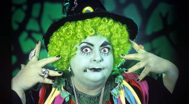 Carol Lee Scott as 'Grotbags' (Photo by ITV/REX/Shutterstock)