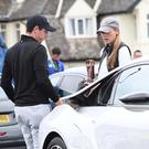 Rory McIlroy and wife Erica arrive at the Dubai Duty Free Irish Open at Portstewart. Pic Colm Lenaghan/ Pacemaker