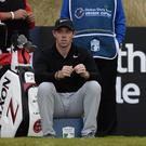 Rory McIlroy at the Dubai Duty Free Irish Open at Portstewart during round one