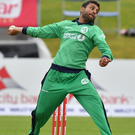 On song: Simi Singh has performed well for Ireland's Wolves. Photo: Rowland White/Presseye